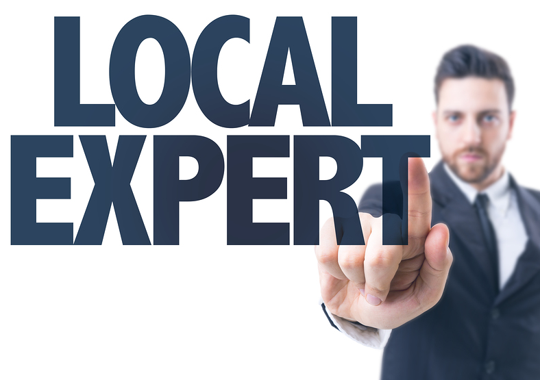 How to Become the Local Expert